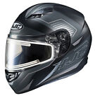 HJC Full Face Snow Adult CS-R3SN Trion Electric Shield Helmet MC-5SF All Sizes
