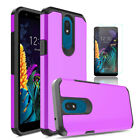 For LG Neon Plus / Journey LTE / Tribute Royal Case Cover With Screen Protector