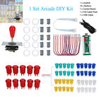 Arcade DIY Game Set 1 Player Joystick+10 Happ Push+10Microswitch+USB Encoder