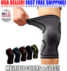 2x Knee Brace Compression Support Sleeve Arthritis Tendinitis Joint Pain Relief