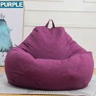 Extra Large Bean Bag Chair Sofa Cover Indoor/Outdoor Game Seat Couch Lazy Adults