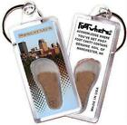New Hampshire FootWhere® Souvenir Keychain. Made in USA $5.99 USD on eBay