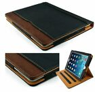 """iPad Case 7th Gen 10.2"""" 2019 Leather Smart Cover Wallet Sleep Wake For Apple"""