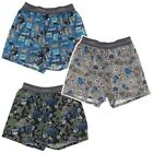 Kyпить Hanes Boys Guitar Print Set of 3 Cotton Boxer Shorts Underwear на еВаy.соm