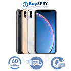 Apple iPhone XS Max 64/256/512GB AT T Verizon T-Mobile Fully Unlocked Smartphone
