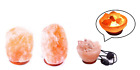 Natural Himalayan Rock Salt Lamp Relaxing Hand Crafted With Bulb & UK Plug In
