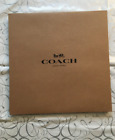 BN Coach Gift /packing Brown Box ,Paper Bags ,Sticker choose, Large,Medium,Small