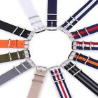 22/20 / 18mm Pull Through Strap Watchband Textile -NATO Retro Nylon Watch Band image