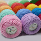 9 ball X 50g Crochet Thread lace Yarn Thin Craft Pure Cotton Weave DIY Knitting £13.88 GBP on eBay