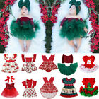 Kyпить Infant Toddler Baby Girl Outfit First Christmas Party Romper Tutu Dress Clothes на еВаy.соm