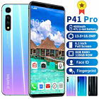 P41pro 6.1''inch Mobile Phone Face Screen Unlock Android 9.1 Dual Sim 8gb+128gb