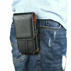 Mens Waist Bag Belt Loop PU Leather Carry Holster Wallet Case Phone Pouch Sleeve