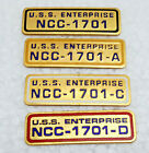 Vintage Star Trek Enterprise Call Letters Cloisonne Pin Collection- Your Choice on eBay