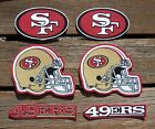 Iron On Sew On Transfer Applique San Francisco 49ers Handmade Cotton Patches