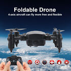 Mini Drone Foldable RC Quadcopter One Key Restoring Helicopter with Headless Mode