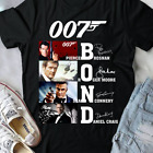 007 James Bond cast signed Pierce Roger Sean Daniel Craig movie Shirt Size S-5XL $15.99 USD on eBay