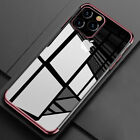 Luxury Ultra Thin Plating Case for iPhone 11 Pro Max XR XS 8 Plus Silicone Cover