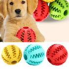Puppy Pet Dog Toy Training Dental Rubber Ball Chew Treat Dispensing Holder