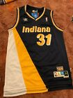 Reggie Miller #31 Indiana Pacers Navy Throwback 87-88 Mens Jersey on eBay