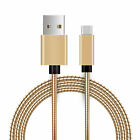 Metal Snake USB Type-C Cable for iPad Pro, Galaxy S20+, S20 Ultra, Z Flip, Pixel