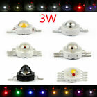 3W LED RGB Infra Beads Lamp Diodes High Power Chip Light Multi Color
