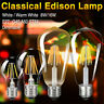220V E27 DIMMABLE EDISON BULB FILAMENT COB LED LIGHT RETRO ST64/G45/A60 LAMP E7