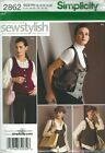 Simplicity 2862 Misses' Vest, Hat, Wristlet, Purse and Tote Sewing Pattern