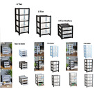 Plastic 3/4 Tier Drawers Chest Shallow Storage Drawer Organizer Desktop Tower