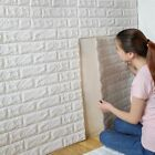 3d Brick Tile Sticker Self-adhesive Wall Panel Decals Home Kitchen Room Decor Jc