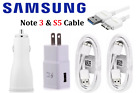 OEM Original Samsung Note3 Galaxy S5 USB Data Sync Car Wall / Charger Cable Cord