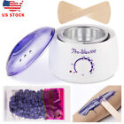 Wax Electric Warmer Kit Hair Removal Hot With 4 Packs Of Beans And 10 Sticks USA