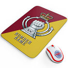 Military Cap Badge Mouse Mat Work Computer PC Personalised Retirement Army GiftOther Supplies & Stationery - 40001