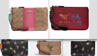 Coach Wristlet ,Stone Blue,Deep Red,Signature Rainbow.posey,rexy choose yours