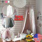 Bedcover Canopy Mosquito Net For Kids Baby Crib Princess Round Hang Dome Indoor image