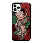 BETTY BOOP FLOWER iPhone 5/5S 6/6S 7 8 Plus X/XS XR 11 Pro Max Case $15.9 USD on eBay