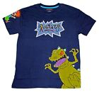 NICKELODEON RUGRATS REPTAR CHUCKIE TOMMY PICKLES T SHIRT RETRO 90S TEE MENS NEW