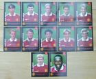 1998-99 Man Utd Portrait Signed Unsigned Club Cards Individually Priced