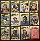 1977 Topps SAN DIEGO Chargers Team Set DAN FOUTS Ray WERSCHING Charlie JOINER $14.99 USD on eBay