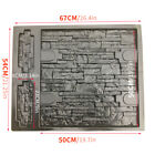 Pathway Mold Wall Stone Concrete Pavement Mould Maker DIY Stepping Paving  image
