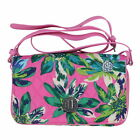 Vera Bradley Womens Turnlock Crossbody Bag Quilted Adjustable Strap Carry New