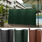 Outdoor Blinds Fence Screen Sight Protection Pvc Bamboo Garden Privacy Balcony