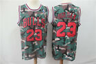 New Chicago Bulls #23 Michael Jordan Basketball Jersey camouflage on eBay