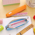 Oxford Pencil Case Students School Supplies Cosmetic Pouch Stationery Pen Bag Qk