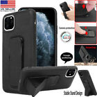 G-Case Shockproof Hard PU Leather Holster Stand Case Cover For iPhone 11 Pro Max