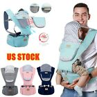 Infant Baby Carrier Breathable Ergonomic Adjustable Wrap Sling Backpack US STOCK