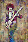Thin Lizzy Phil Lynott Poster, Thin Lizzy Music Tribute with Free Shipping US
