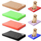 Large Washable Pet Dog Cat Bed Waterproof Leather Pet Cushion Mattress Pad Mats