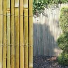 Split Bamboo Screening Roll Privacy Screen Fencing Garden Fence Panel 4m Long