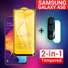 2 In 1 For Samsung Galaxy A50/ A50S/ A51(2019) Camera Lens Film 9D Screen Protec
