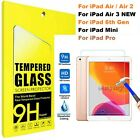 'Tempered Glass Film Screen Protector For Apple Ipad 1 2 3 4 Mini Air Pro 11 10.2